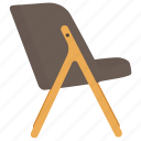 armchair, chair, cogswell chair, lawn chair, lounge chair icon