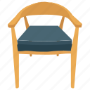 computer chair, office chair, on chair, wood chair icon