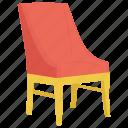 armless chair, chair, church chair, church furniture, pew stacker chair icon