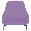 chair, couch, easy chair, rest chair, sleep chair, slumber chair icon