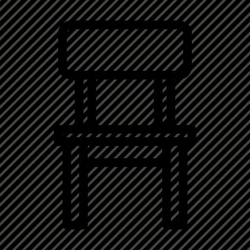 chair, furniture icon
