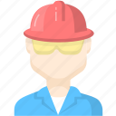 character, worker, workman icon