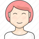 character, girl, people, women icon