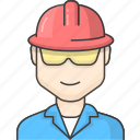 character, people, worker icon