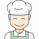 character, chef, people icon