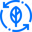 charity, ecology, green, natural, recycle, renew, reuse icon