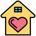 accommodation, assistance, help, housing, support icon