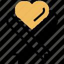 awareness, health, heart, medical, ribbon