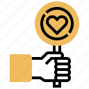 charity, donation, generosity, help, leniency icon