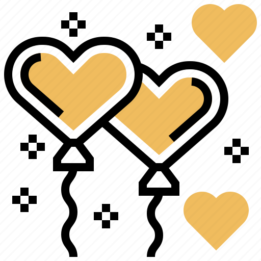 Balloon, freedom, happy, heart, hope icon - Download on Iconfinder