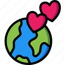 care, charity, donation, give, international, love icon