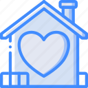 care, charity, donation, give, housing, love icon