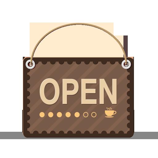 activity, open, work icon