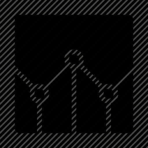 analytics, chart, data, diagram, information, statistic icon