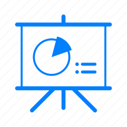 analytics, business, chart, data, presentation, report icon