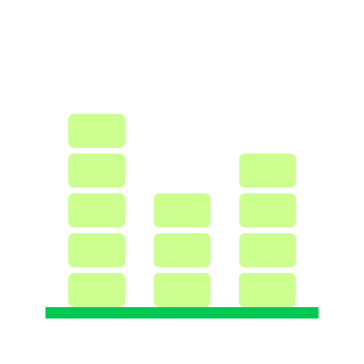 block, chart, data, statistics icon