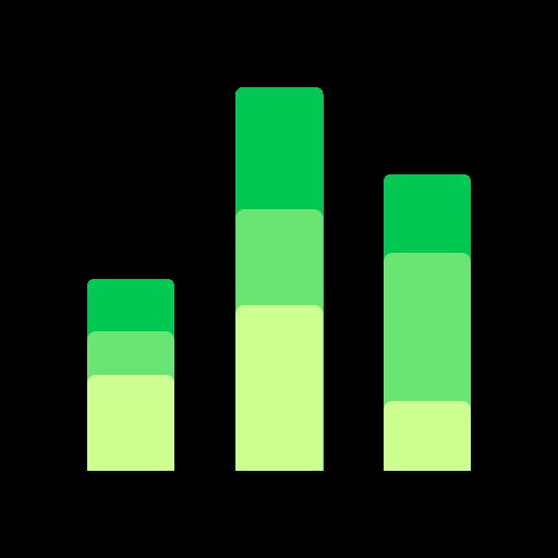 analytics, chart, comparison, statistics icon