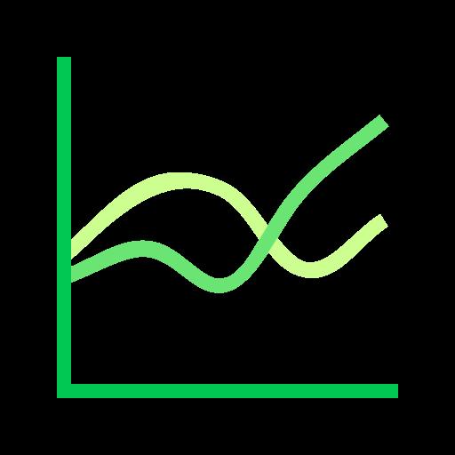 comparison, report, sales icon