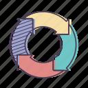 business, chart, diagram, graph icon