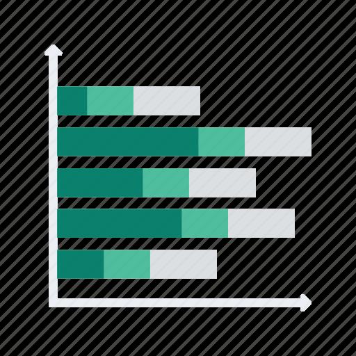 analytics, bar, chart, graph, line, overlap, statistics icon