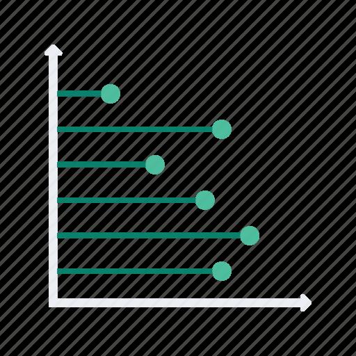analytics, chart, graph, line, presentation, statistics icon