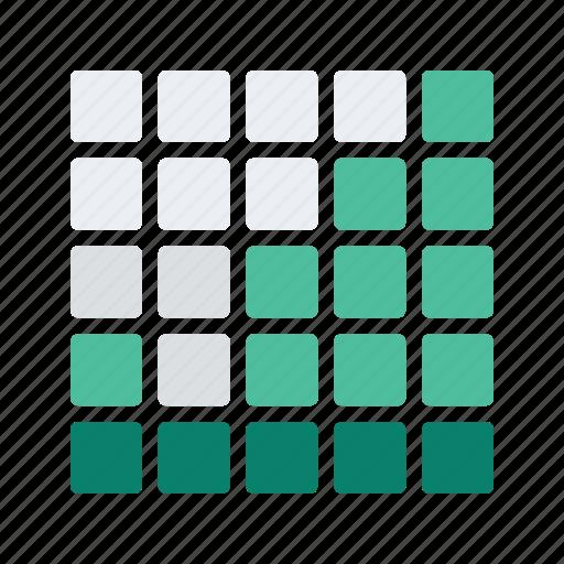 analytics, chart, graph, square, statistics icon