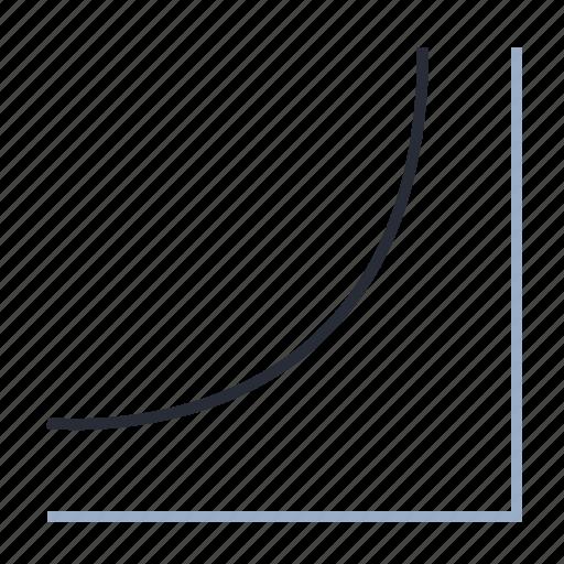 analysis, cumulative, diagram, distribution, exponent, timetable icon
