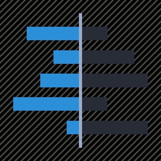 chart, data, deviation, diagram, graph, plot, spine icon