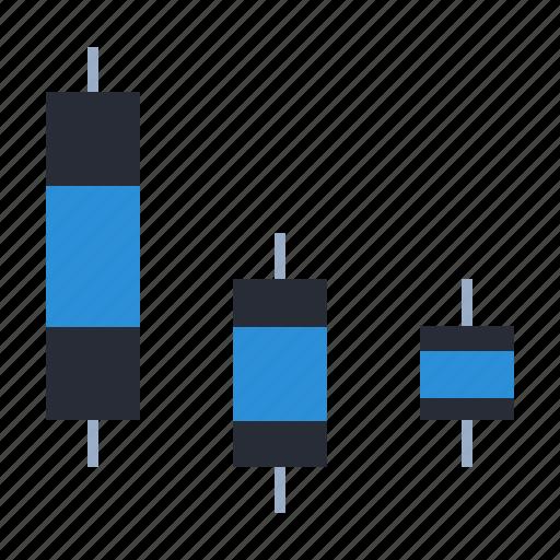 analysis, boxplot, data, diagram, distribution, forex icon
