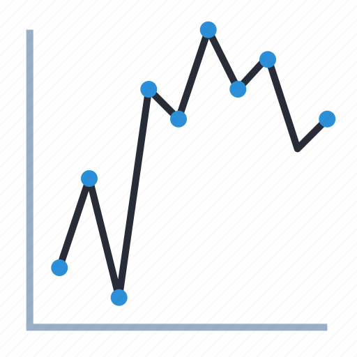 correlation, data, diagram, plot, scatterplot, statistics icon