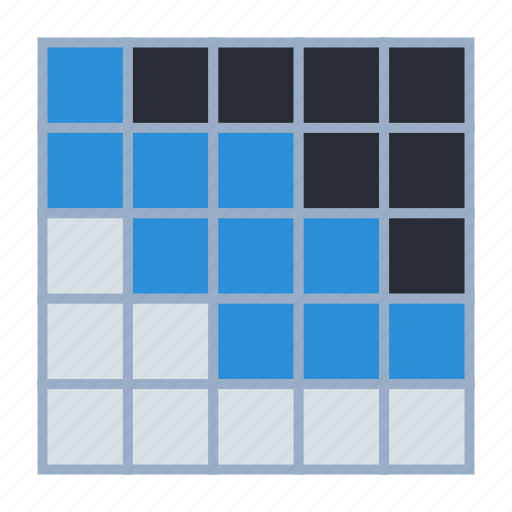 analytics, chart, correlation, diagram, heatmap, plot icon