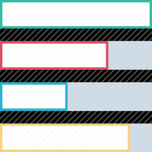 bars, chart, data, graph icon