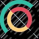 data, diagram, report, seo icon