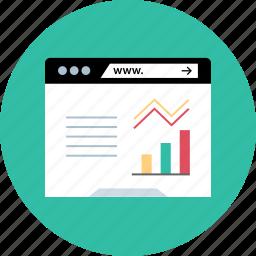 analytics, safe, web, www icon