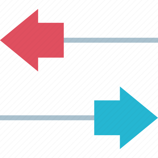activity, arrows, transaction icon