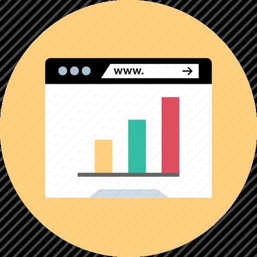 bars, chart, data, diagram icon