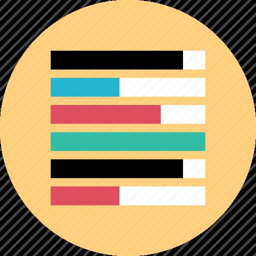 chart, diagram, google, graph icon