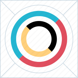diagram, eye, graph, seo icon
