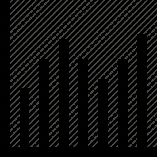 chart, decrease, graph, growth, increase, pie, presentation icon