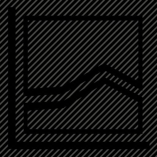 business, chart, diagram, finance, graph, report, statistics icon
