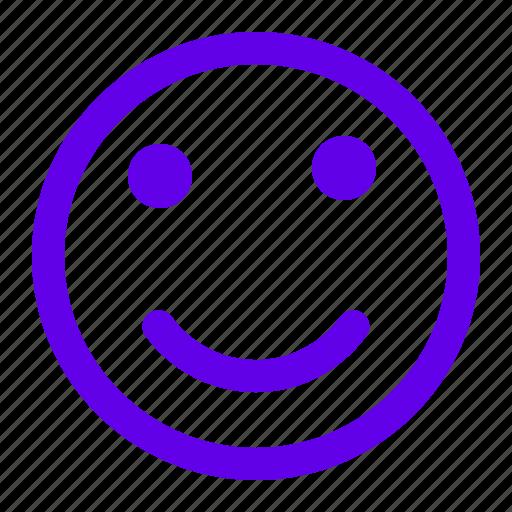 emoticon, emotion, smile, sticker icon