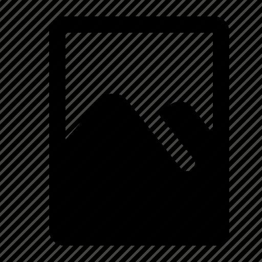file, image, picture, view icon