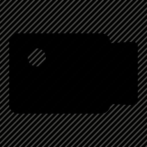 film, record, video, videocall icon