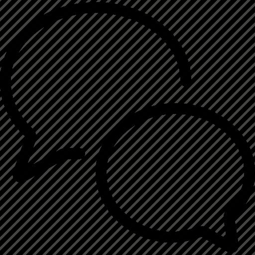 chat chat bubble chatting ellipsis message shapes speech