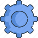 gear, preference, set, settings icon