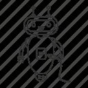 chat bot, chatbot, plug, robot, technology, usb, usb cable icon