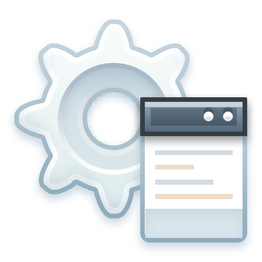 cog, config, gear, options, preferences, settings icon