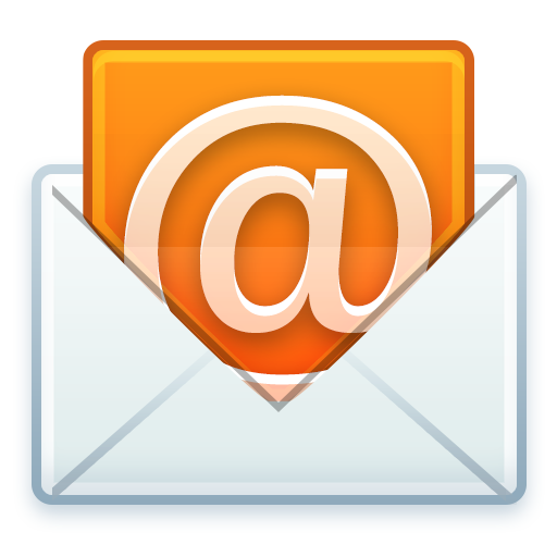 @, email, letter, mail, open icon