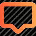 bubble, chat, comment, inbox, letter, mail, message, speech