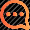 bubble, chat, chatting, communication, message
